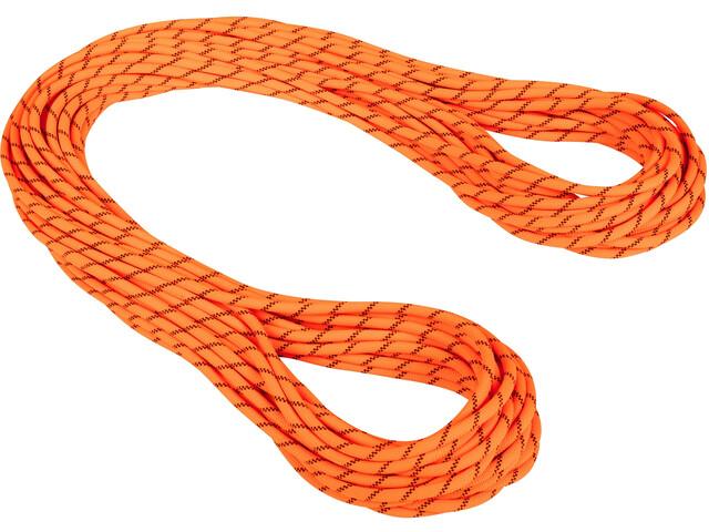 Mammut 8.7 Alpine Sender Dry Corda 60m, dry standard/safety orange/black
